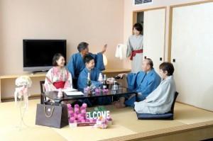 家族宴会①20130624