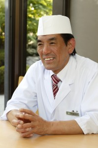 総料理長 佐藤 秀孝からのメッセージ