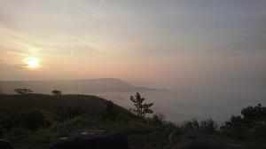 大観峰雲海