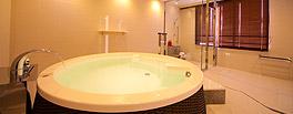 特別和洋室の内風呂例